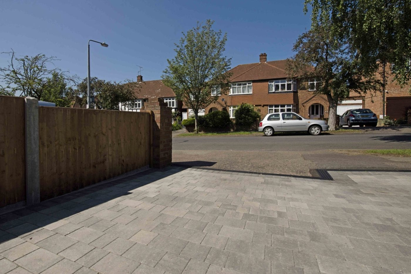 Driveway with Beta Block Paving and Charcoal Edging