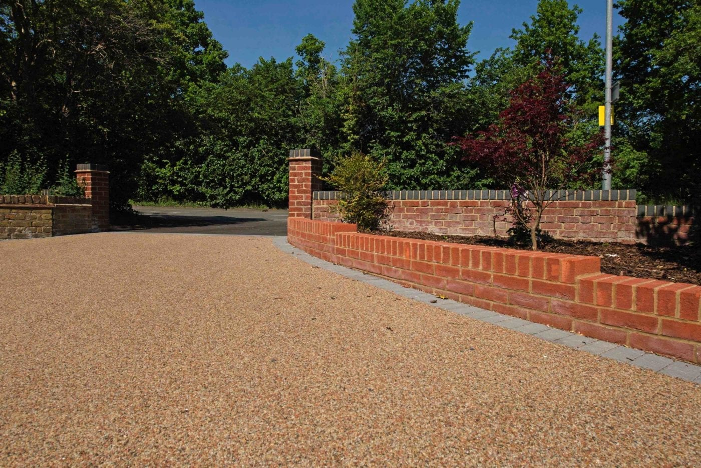 Driveway with Omega Resin (UV Stable)
