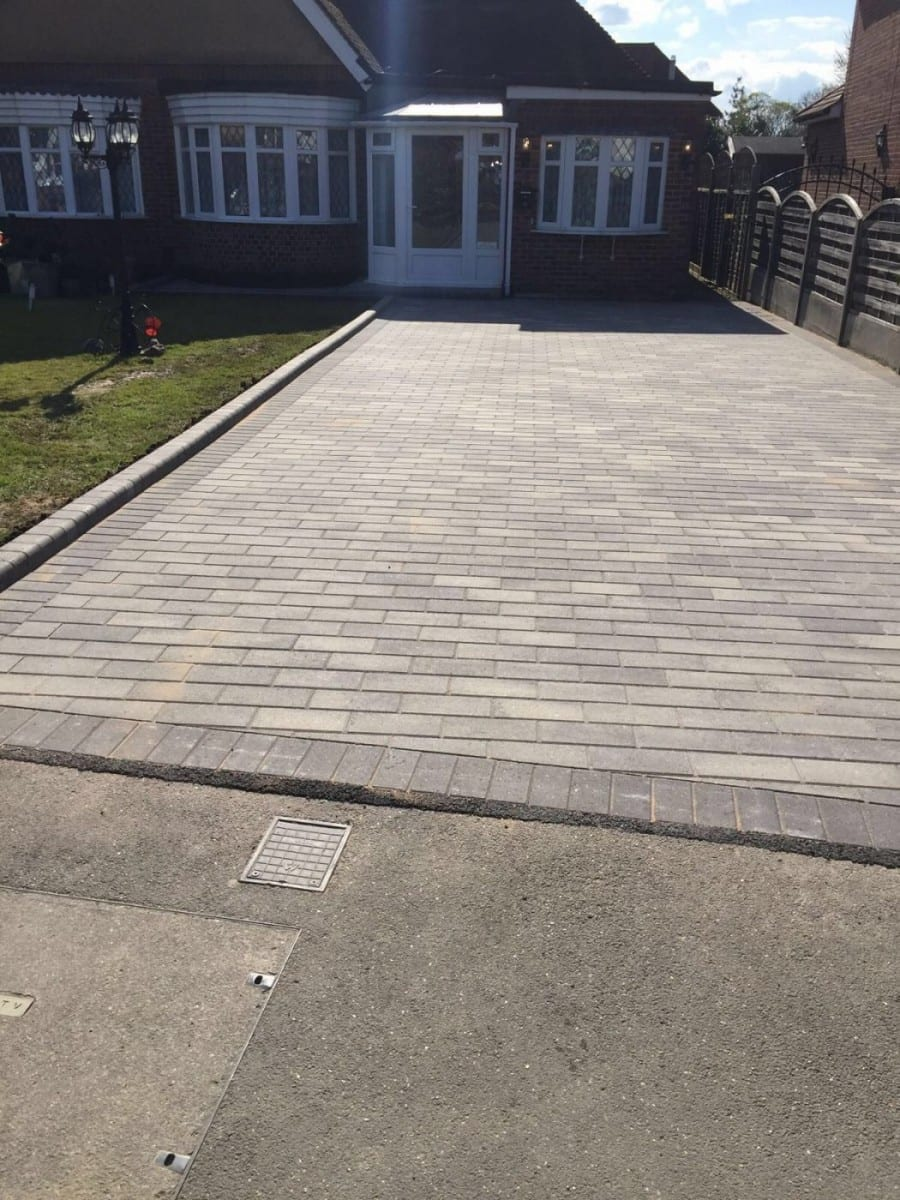 Block Paving Driveway by Diamond Services