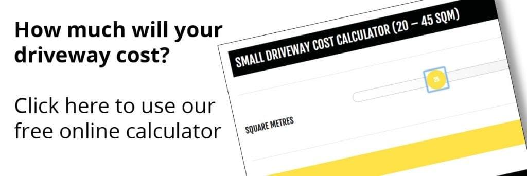 driveway cost calculator